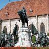 Statuia lui Mate Corvin - Cluj-Napoca, Piata Unirii