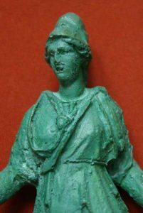Statuetă Zeița Minerva